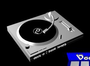 Haz de DJ  con un par de clicks
