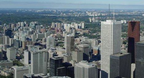 foto panorámica de Toronto