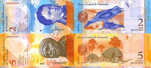 color del dinero