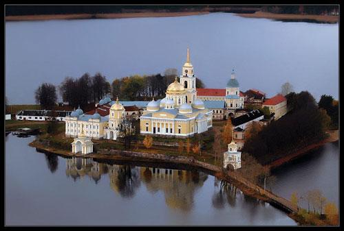 Las fotografías aéreas de rusia van desde hermosas construcciones