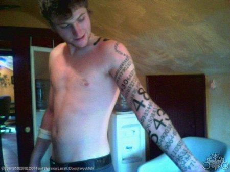 tatuaje de física desarrollo