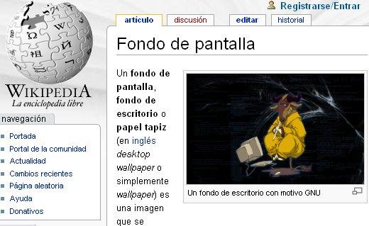 fondo pantalla wikipedia