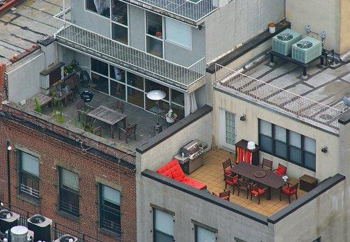 Ticos y terrazas de la gente rica de nueva york refugio - Ideas para aticos ...