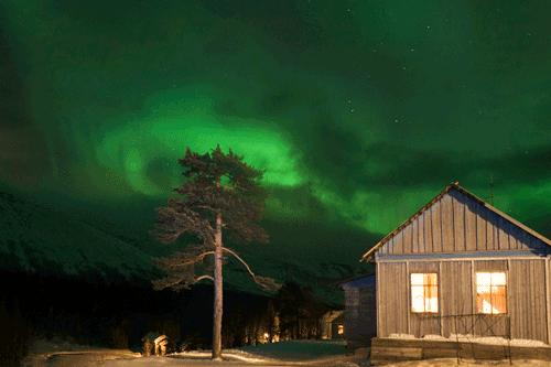 aurora boreal siberia