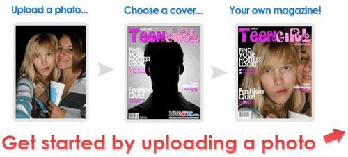 crea portada revista