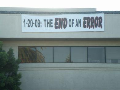 fin de un error