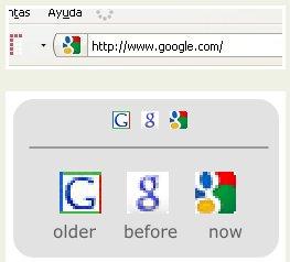 google cambia favicon