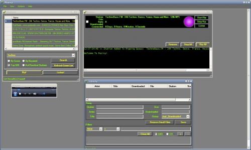 grabar radio internet