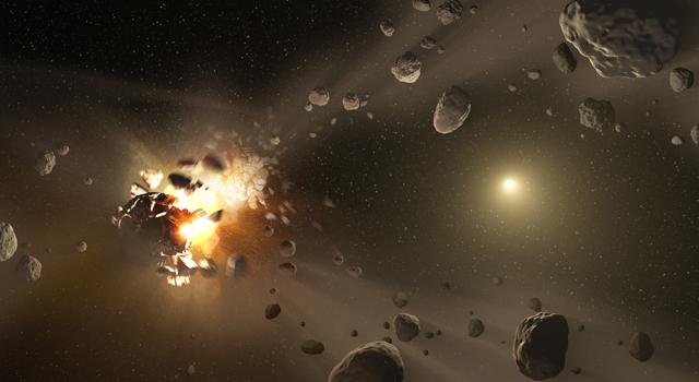 impactos de asteroides
