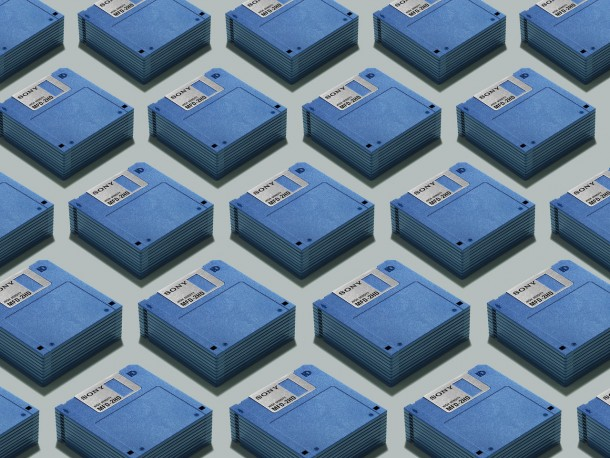 reliquias de la tecnologia - disquetes