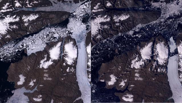 Petermann-Glacier-Melt-Greenland