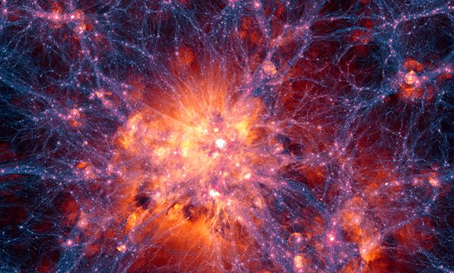 Simulacion cosmologica de la formacion de galaxias