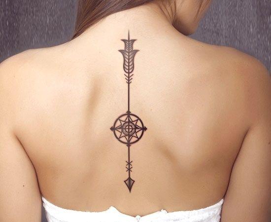 Ejemplos De Tatuajes En La Columna Para Inspirarte Refugio Antiaéreo