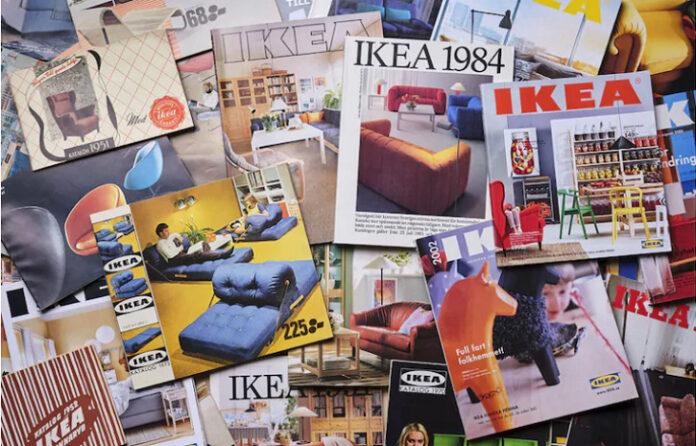 Portadas de los catálogos de IKEA de todas las épocas