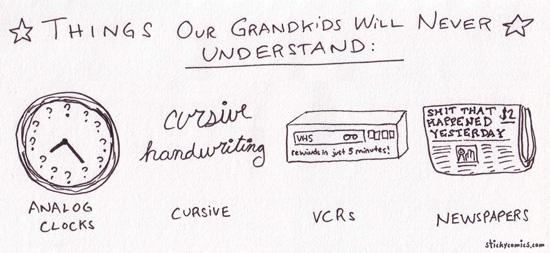 cosas nietos no entenderan