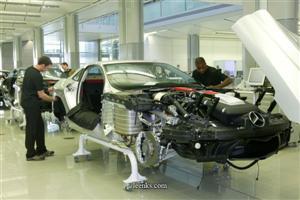 Producción del Mercedes SLR