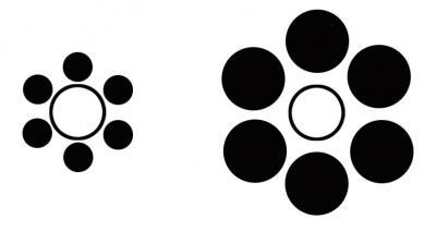 perspectiva ilusion optica