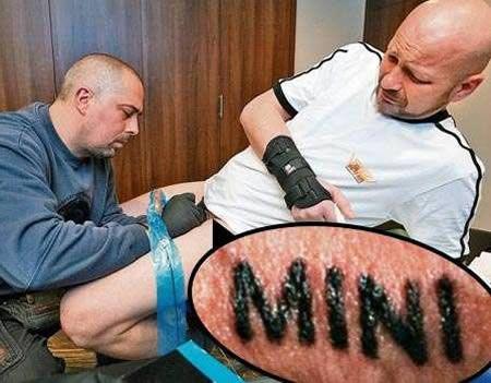 tatuaje pene 10 tatuajes locos con sus historias